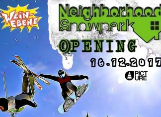 Neighborhood Snowpark Opening am 16. Dezember