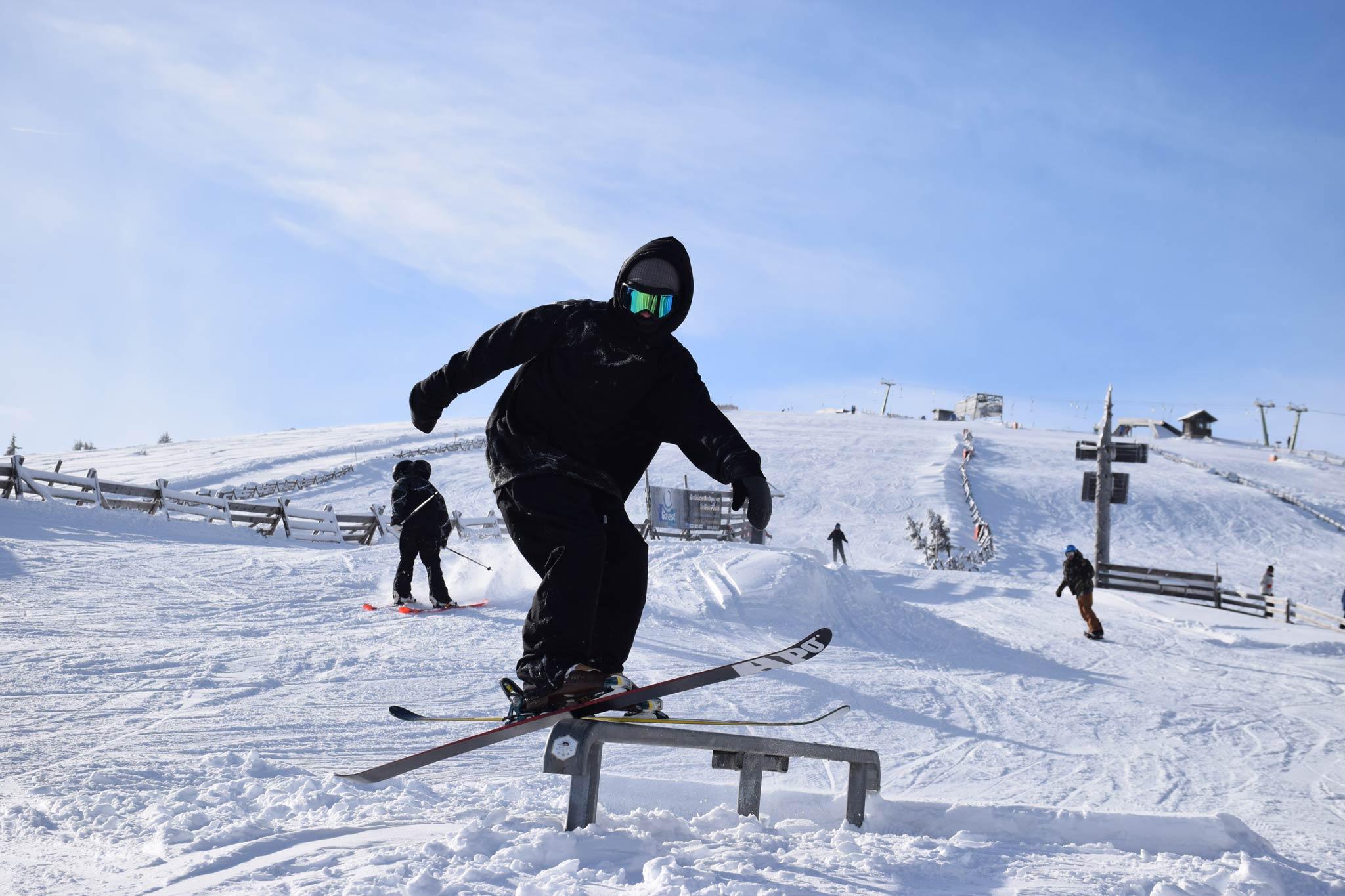 Nachdem der Sturm vorüber gezogen war, stand einem erfolgreichem Opening des Neighborhood Snowparks nichts mehr im Weg.
