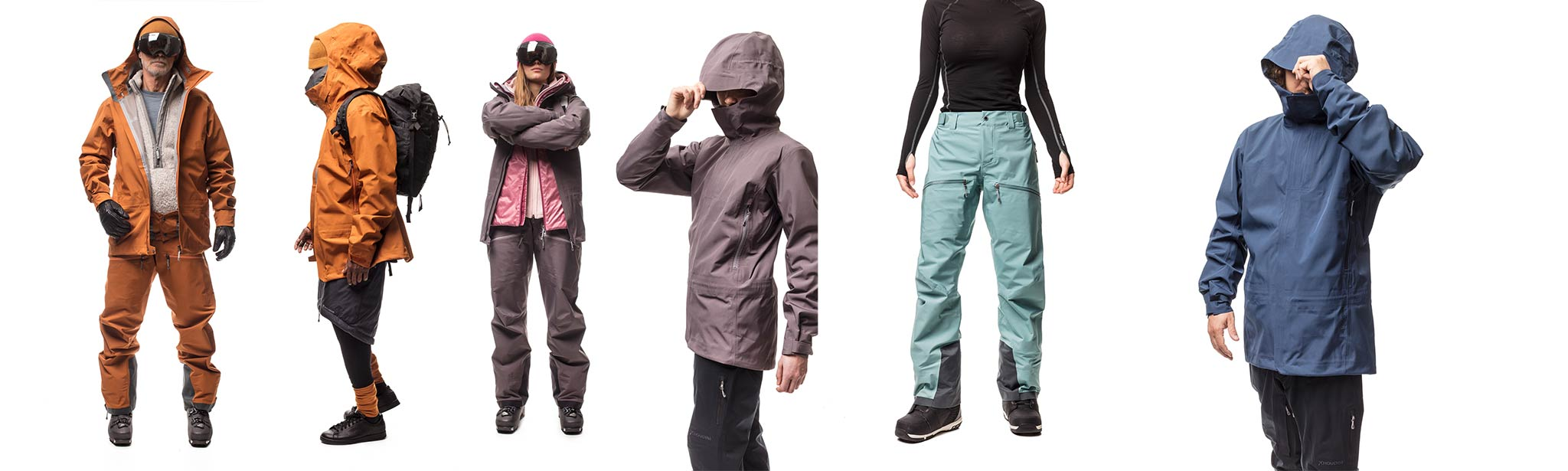 Die neue Houdini D Jacket und Purpose Pants in verschiedenen Style - Foto: Houdini