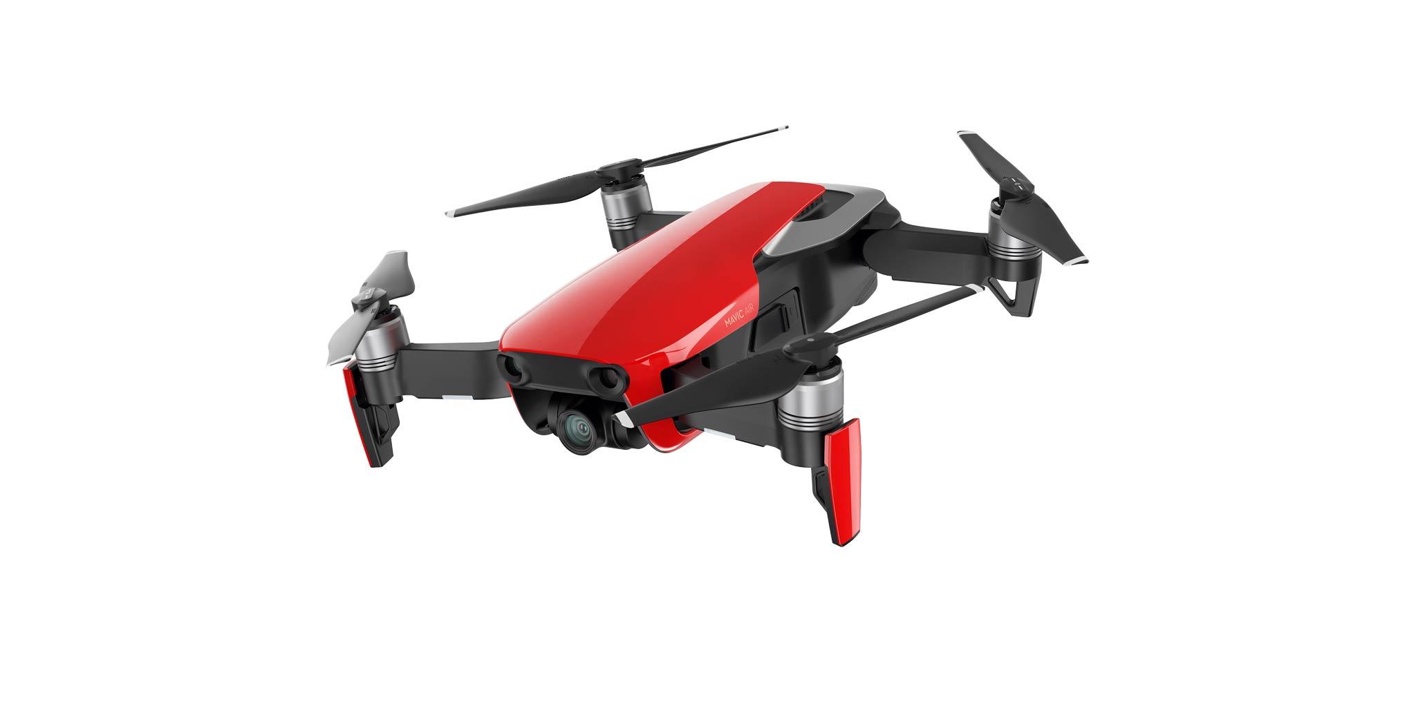 Die neue Mavic Air in der Farbe Rot