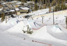 Slopestyle Worldcup in Mammoth, Kalifornien (USA) - Course Preview - Foto: facebook.com/swissfreeski