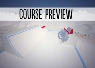 Course Preview Freeski Worldcup Corvatsch 2018 (Silvaplana)