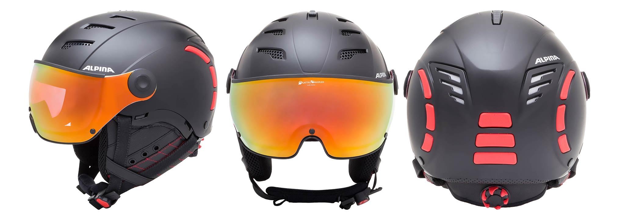 Alpina Und Jump 0 Visier Vm Black Helme 2 Skihelm