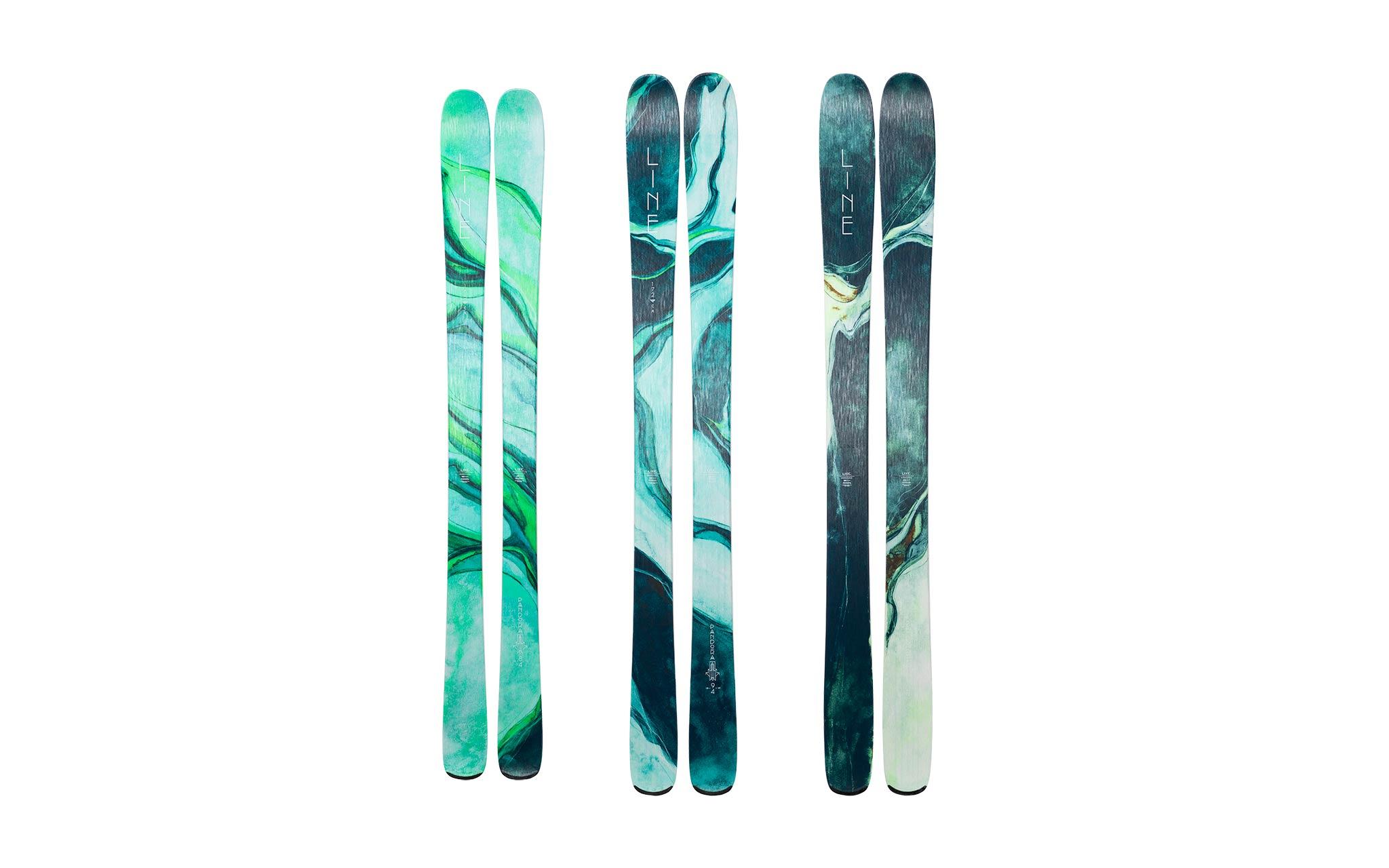 Line Ski Pandora Line 18/19 - 84 / 94 / 104 (v.l.n.r.)