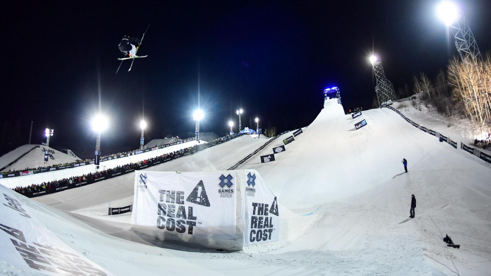 Henrik Harlaut gewinnt Big Air Contest der Männer – Winter X Games 2018 Aspen