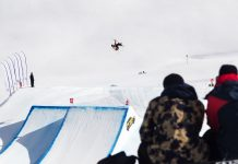 6. FIS Freestyle World Cup am Corvatsch - Rider: Andre Ragettli ©Roman Lachner