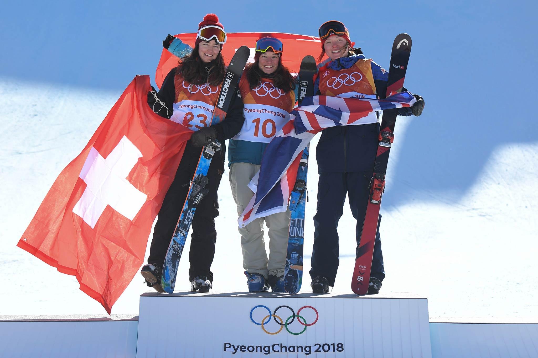 Ski Slopestyle: Sarah Hoefflin holt Gold - Olympia 2018 - Foto: Eurosport