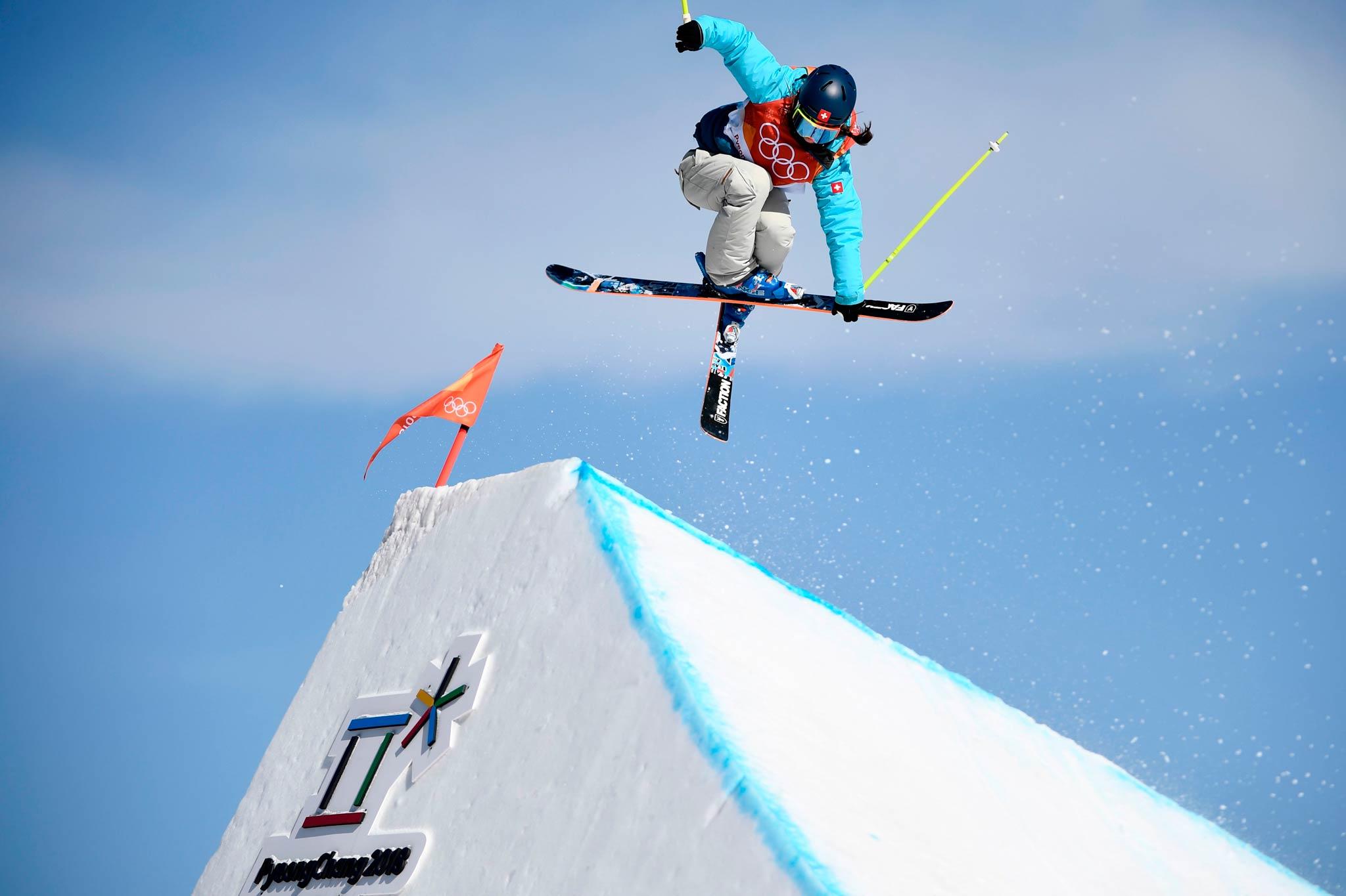 Die Siegerin der Goldmedaille Sara Hoefflin aus der Schweiz - Foto: Eurosport