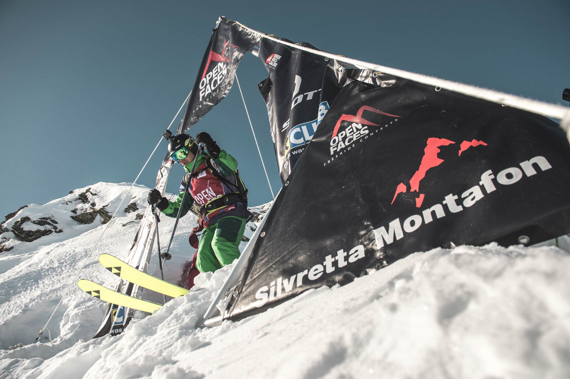 Schnappte sich in Silvretta-Montafon seinen ersten 3*FWQ Sieg: Markus Breitfuß - Foto: Open Faces / Andreas Vigl