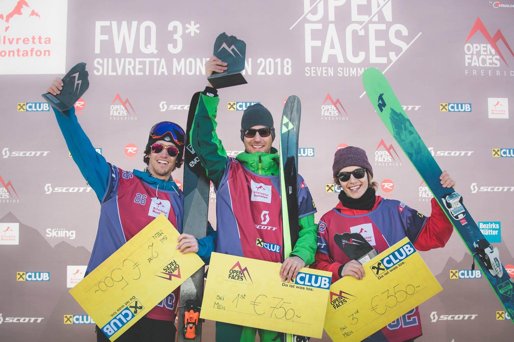 Recap: Hochkarätiges Teilnehmerfeld beim Open Faces Silvretta-Montafon Freeride Contest (2018)