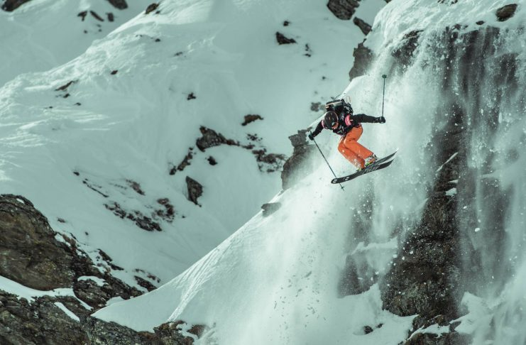 Preview: Open Faces Freeride Contest in Silvretta-Montafon (2018) - Foto: Open Faces/Andreas Vigl