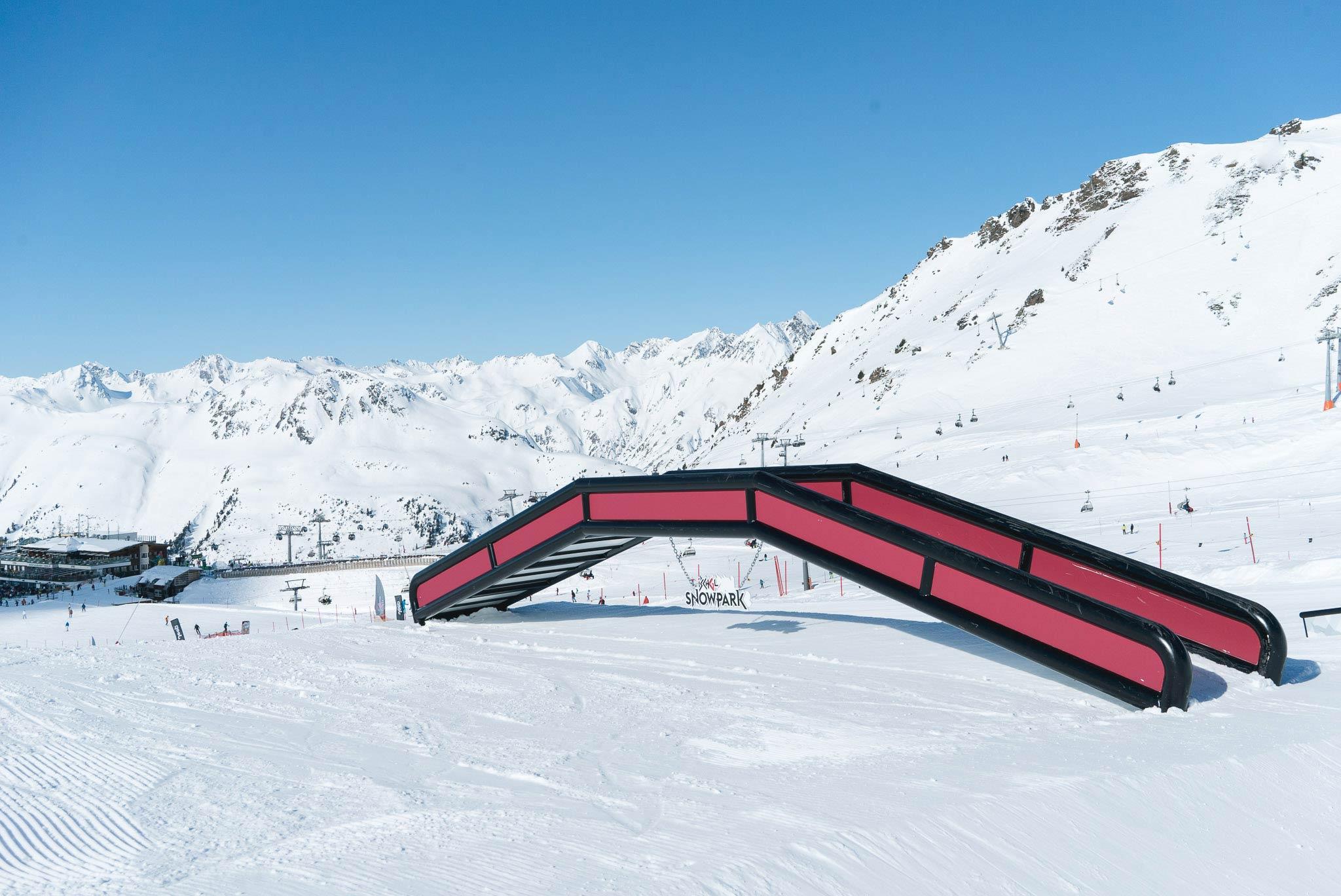 Ganz neu von Schneestern: Die Brücke mit Kinks