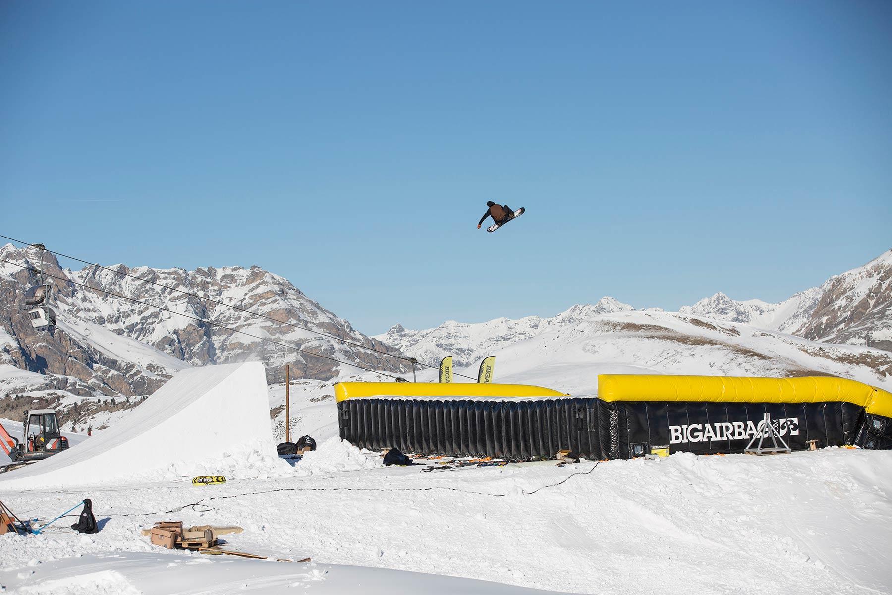 Snowboarder Billy Morgan