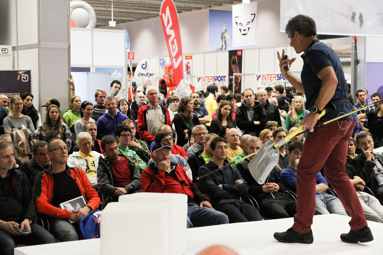 Wissensvermittlung und die neuesten Erkenntnisse rund um den Bergsport bilden die Basis der Alpinmesse - Foto: Alpinmesse Innsbruck