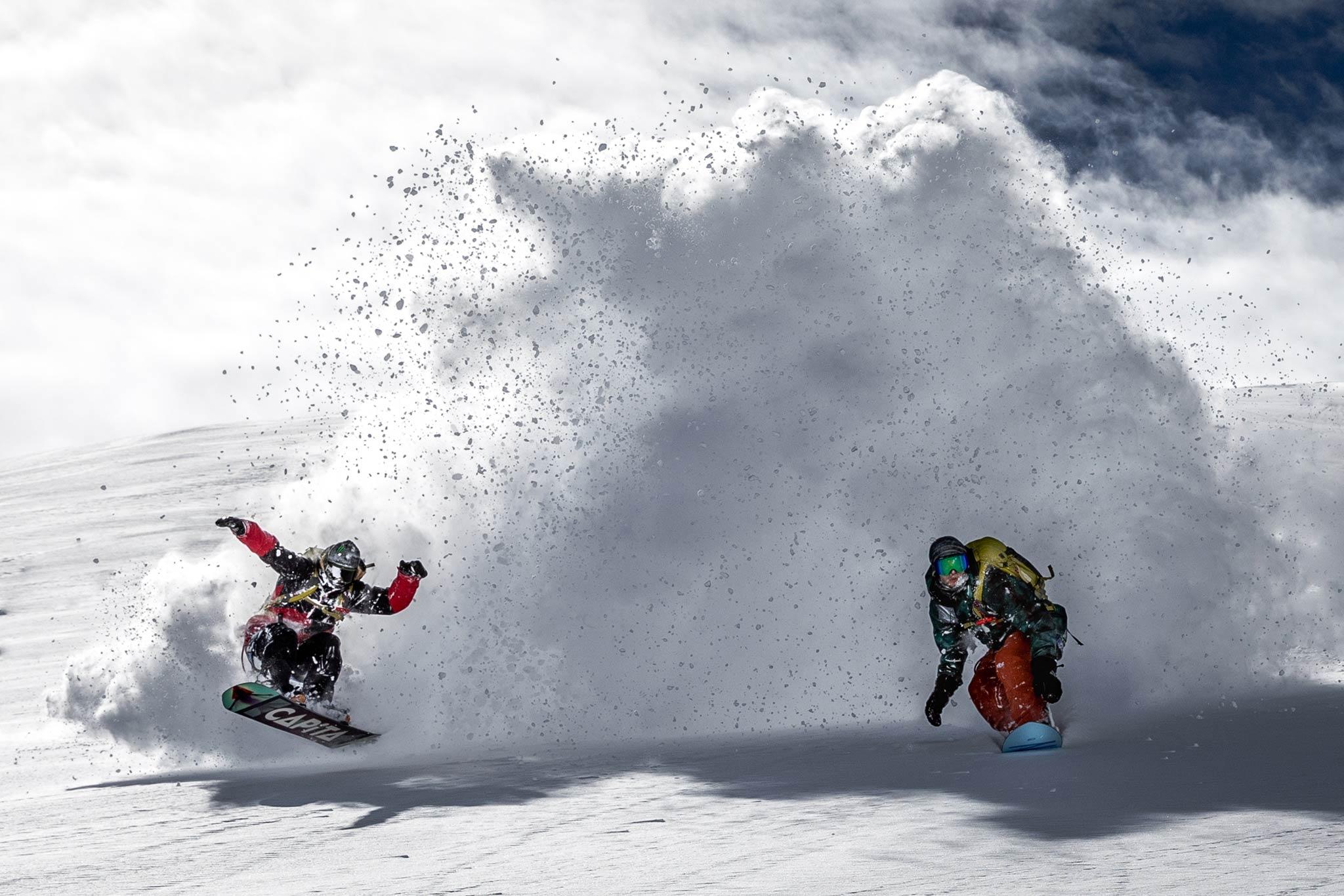 Foto: Roberto Bragotto - Rider: Simon Gruber & Marco Grigis