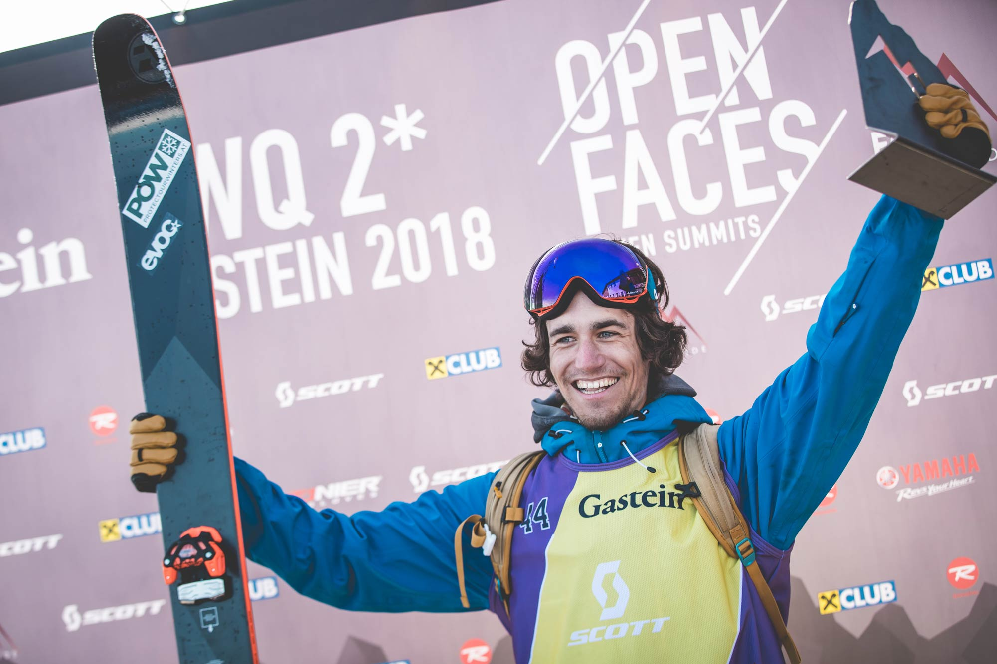 Hiersche und Ertl gewinnen beim Open Faces Freeride Contest in Gastein (2018)