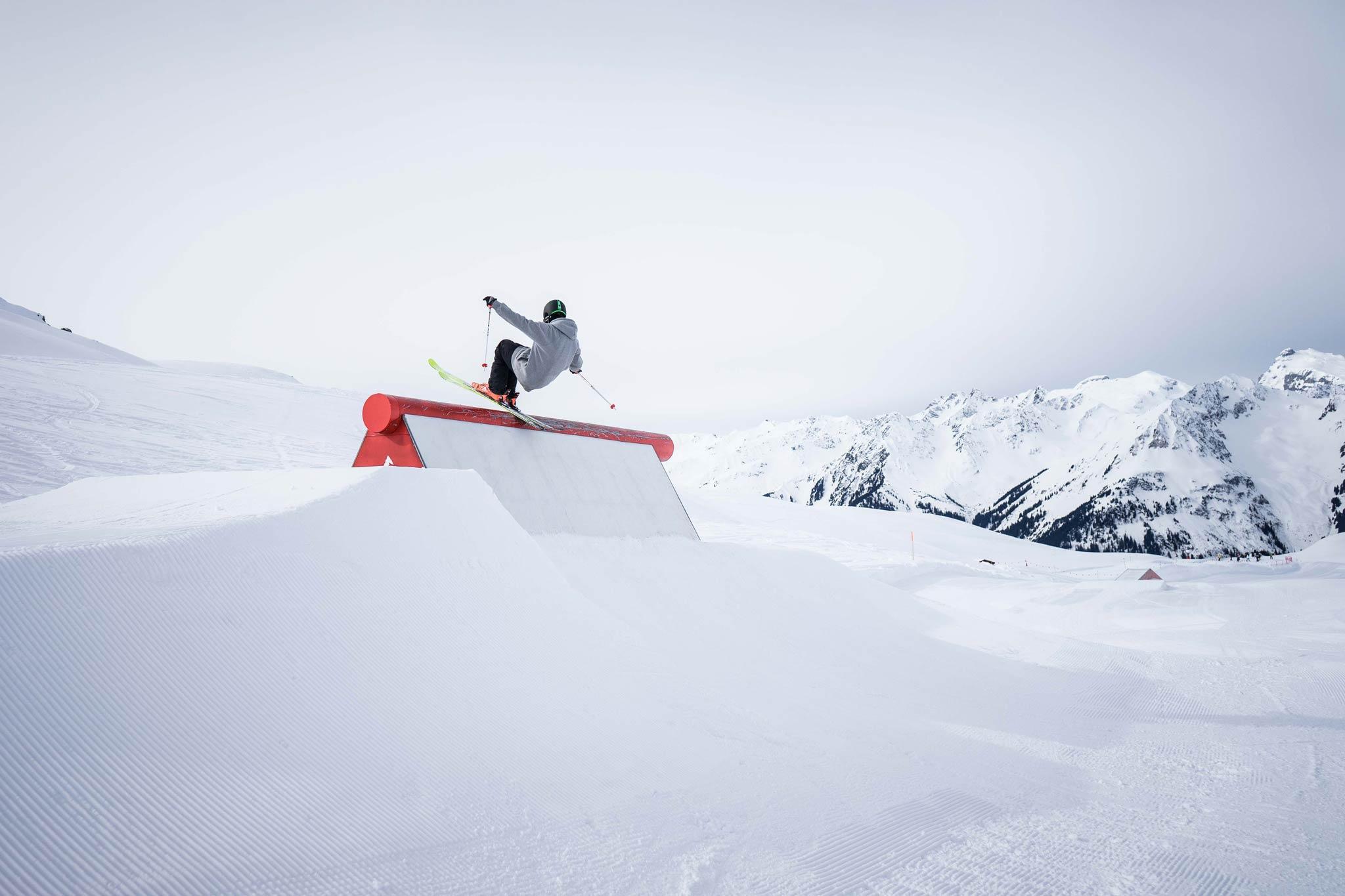 Man sieht sich im Snowpark Montafon! - Foto: Markus Reisacher