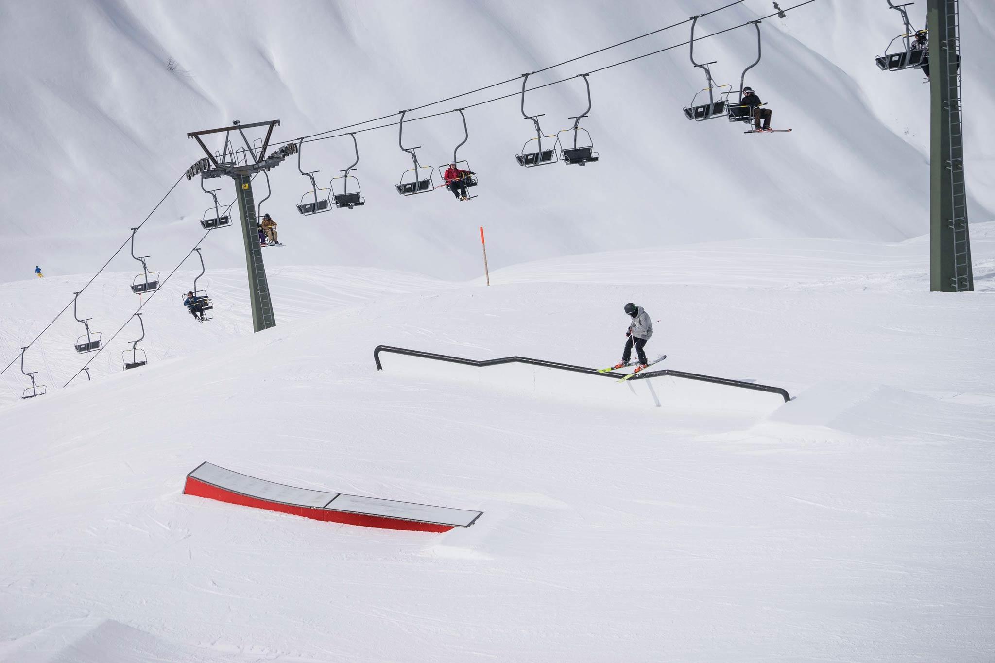 Battle the Shapecrew Videocontest: Postet eure beste Line im Park und gewinnt ein Paar Ski und weitere Preise - Foto: Markus Reisacher