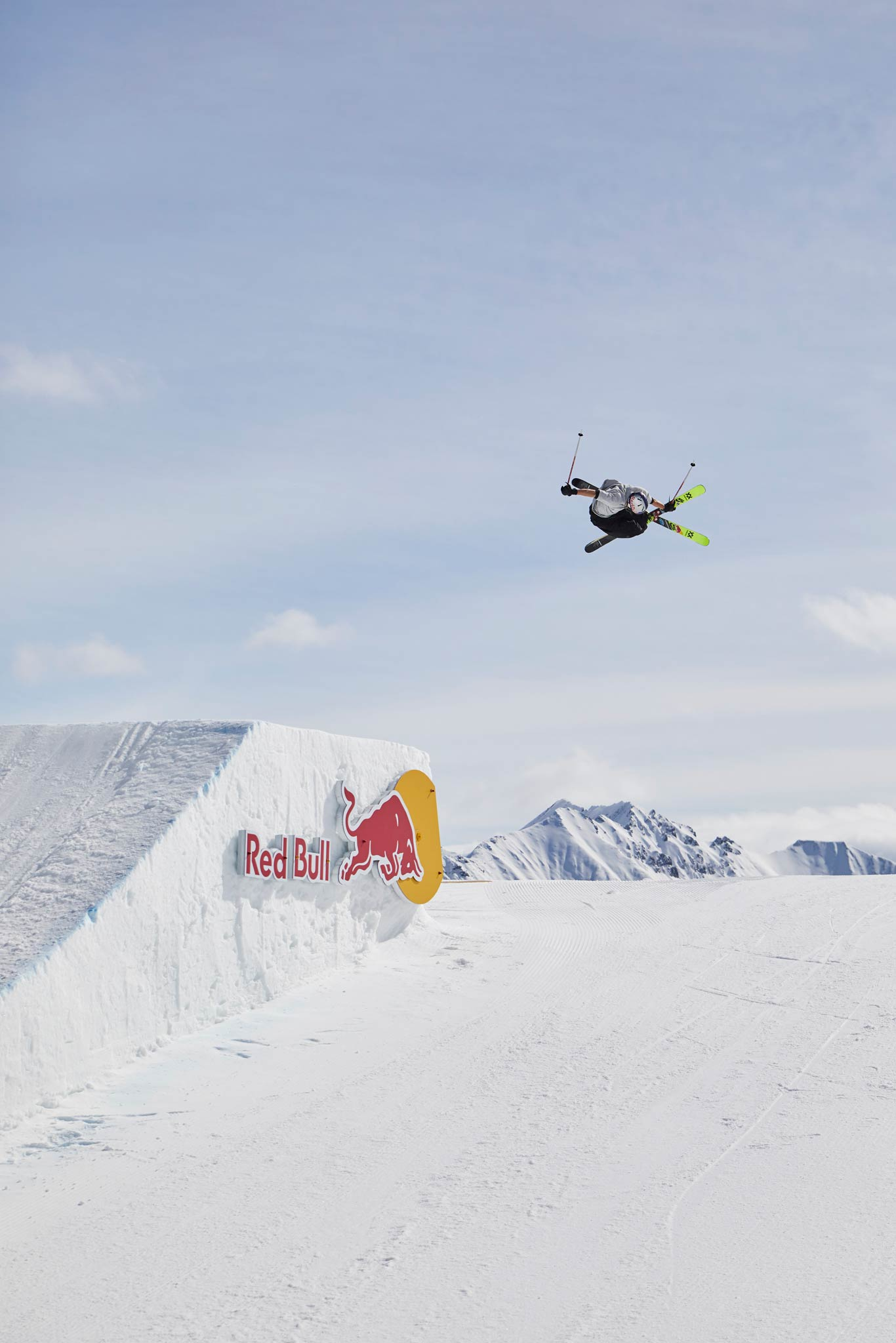 Spring Battle 2018 im Absolut Park is on! - Rider: Nick Goepper - Foto: Sophie Kirchner