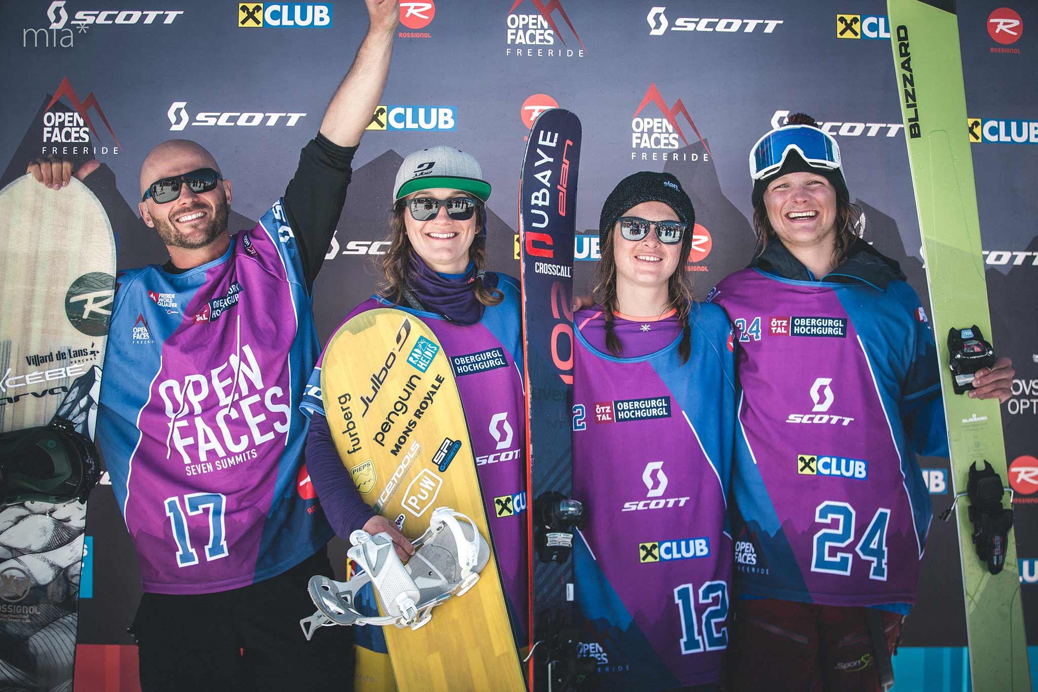Die glücklichen Sieger - Foto: Open Faces / Mia Knoll