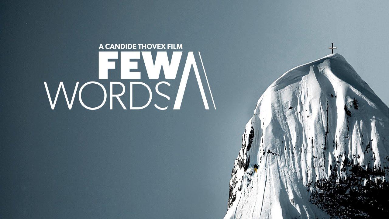 """Few Words"" (Full Movie) – 2015 – Candide Thovex"