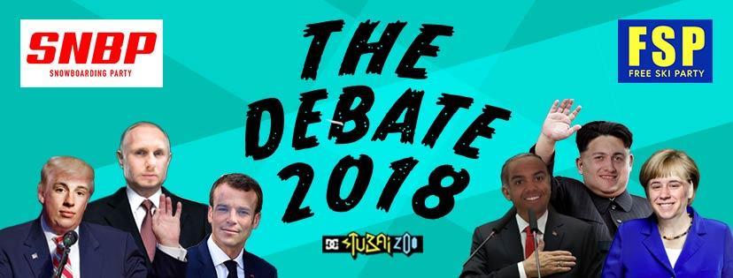 """""""The Debate 2018"""" – Diskutiert über das neue Setup im Stubai Zoo"""