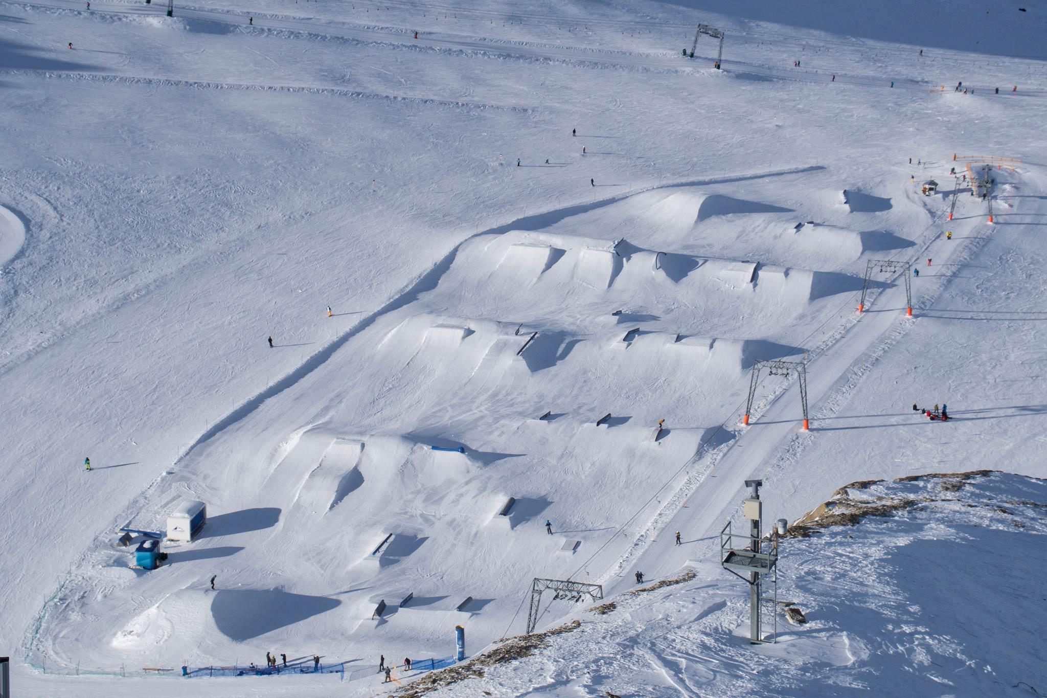 Ab Oktober öffnet der Gletscher Park am Kitzsteinhorn