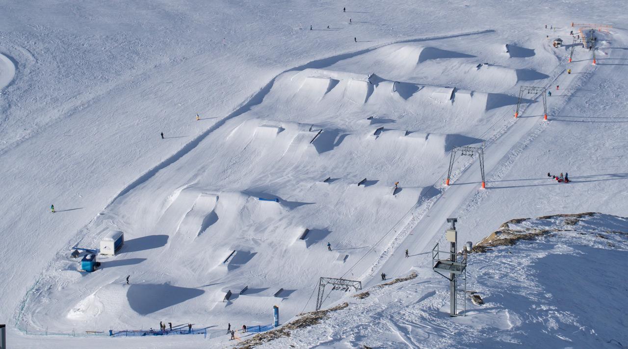 Overview Glacier Park - Foto: Kitzsteinhorn