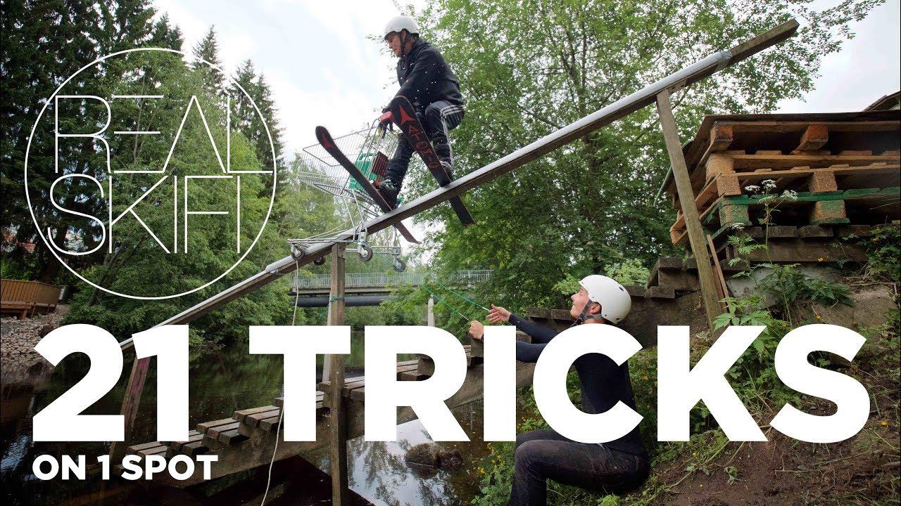 21 Tricks, 1 Spot – Real Skifi