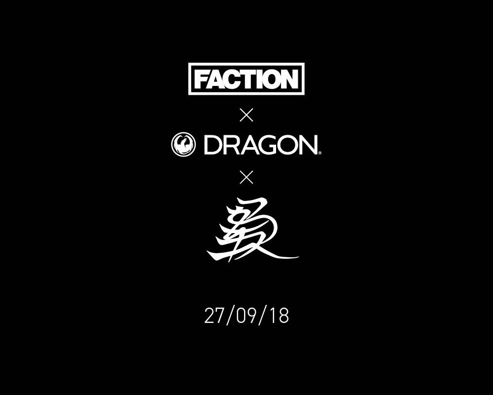 Neue artsy Brillen und Skier: Faction Skis x Kengo x Dragon Alliance