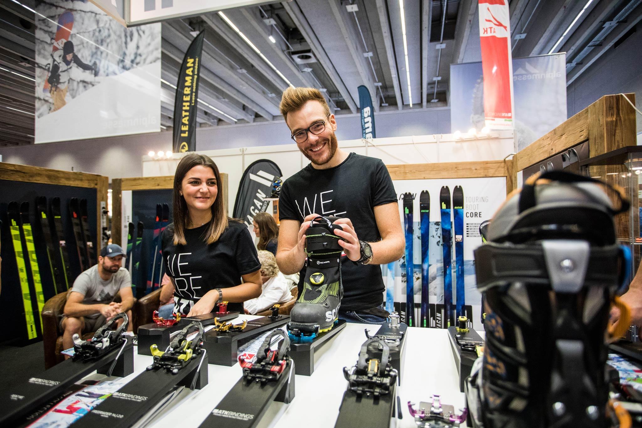 Die Bandbreite der Sportarten auf der Alpinmesse ist mittlerweile sehr hoch und umfasst viele Bereiche der Outdoor-Industrie - Foto: Simon Rainer