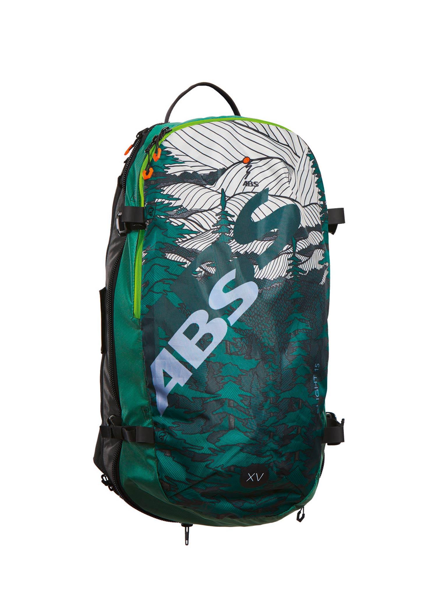 ABS S.Light Compact: Beide Airbags werden unabhängig voneinander durch eine Gaskartusche und mithilfe einer Venturi- Düse innerhalb von zwei bis drei Sekunden bis zu einem Volumen von insgesamt 170 Litern mit Luft befüllt