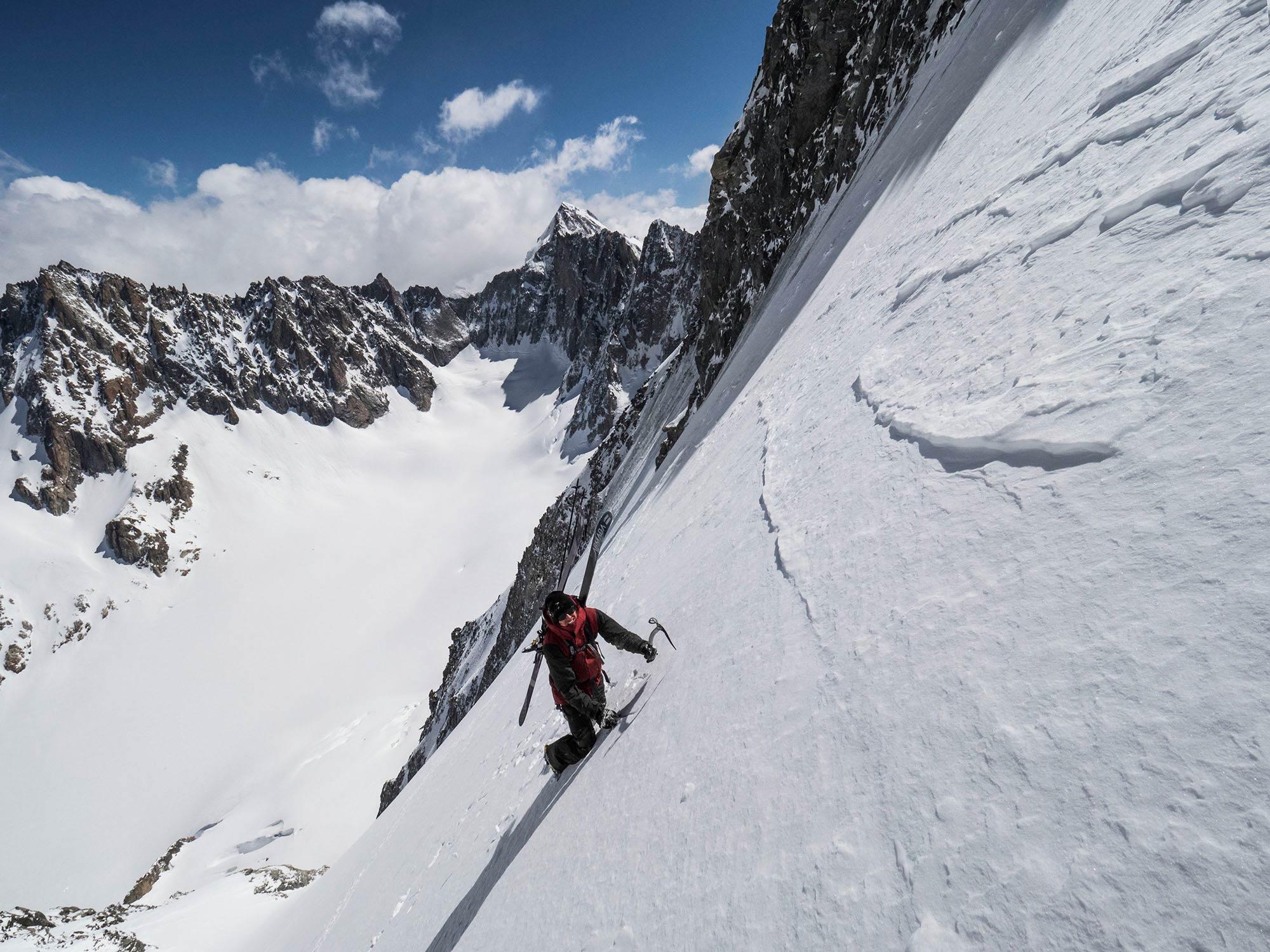 Tof Henry beim Aufstieg - Foto: Daniel Rönnbäck