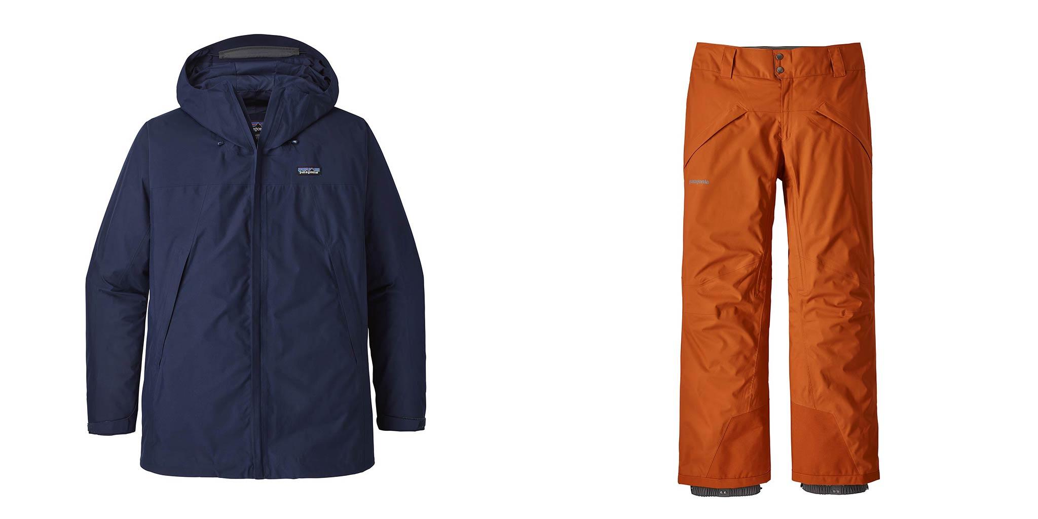 Männer: Patagonia Departer Jacket & Snowshots Pants