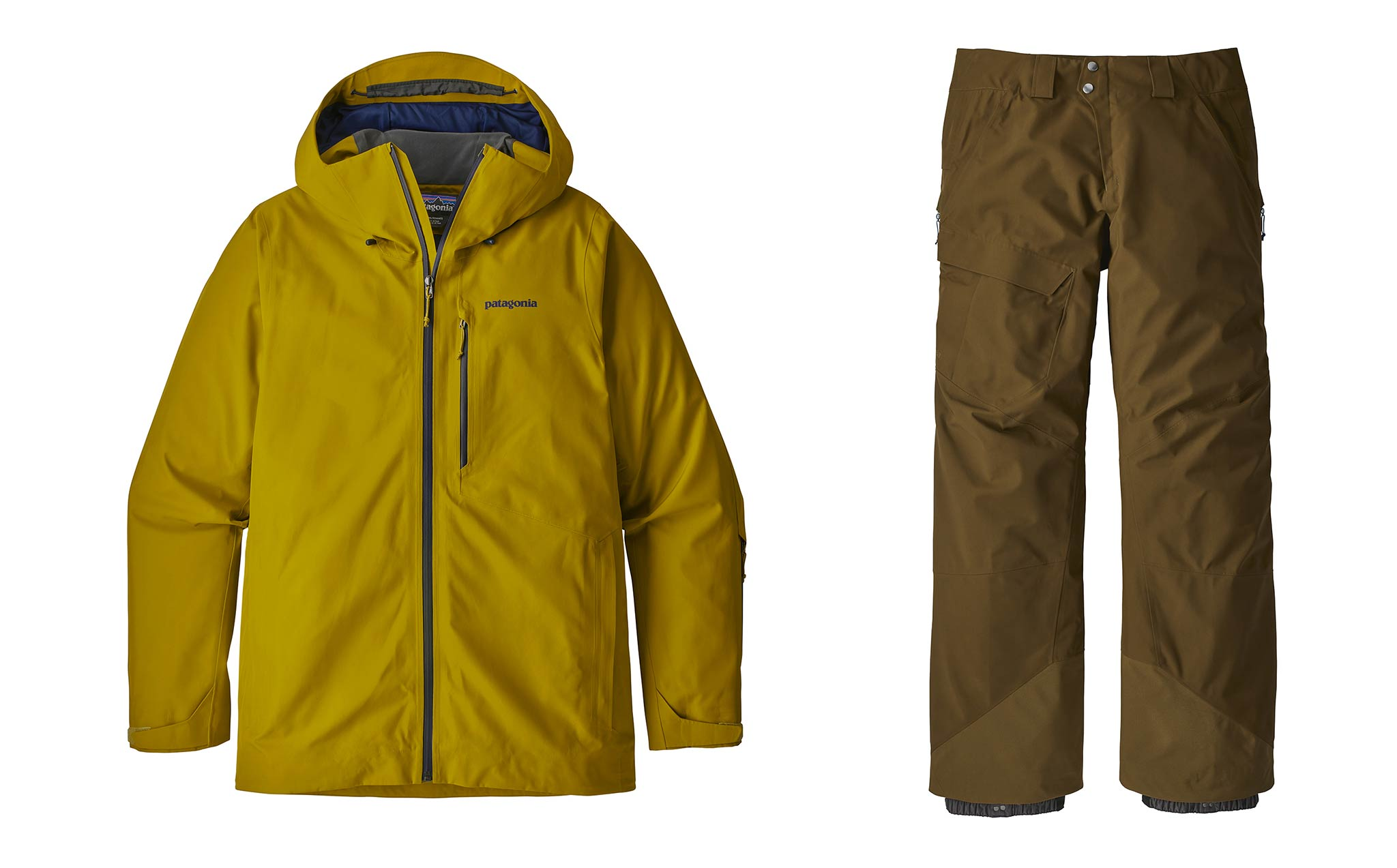 Männer: Patagonia Powder-Bowl Jacket & Pants