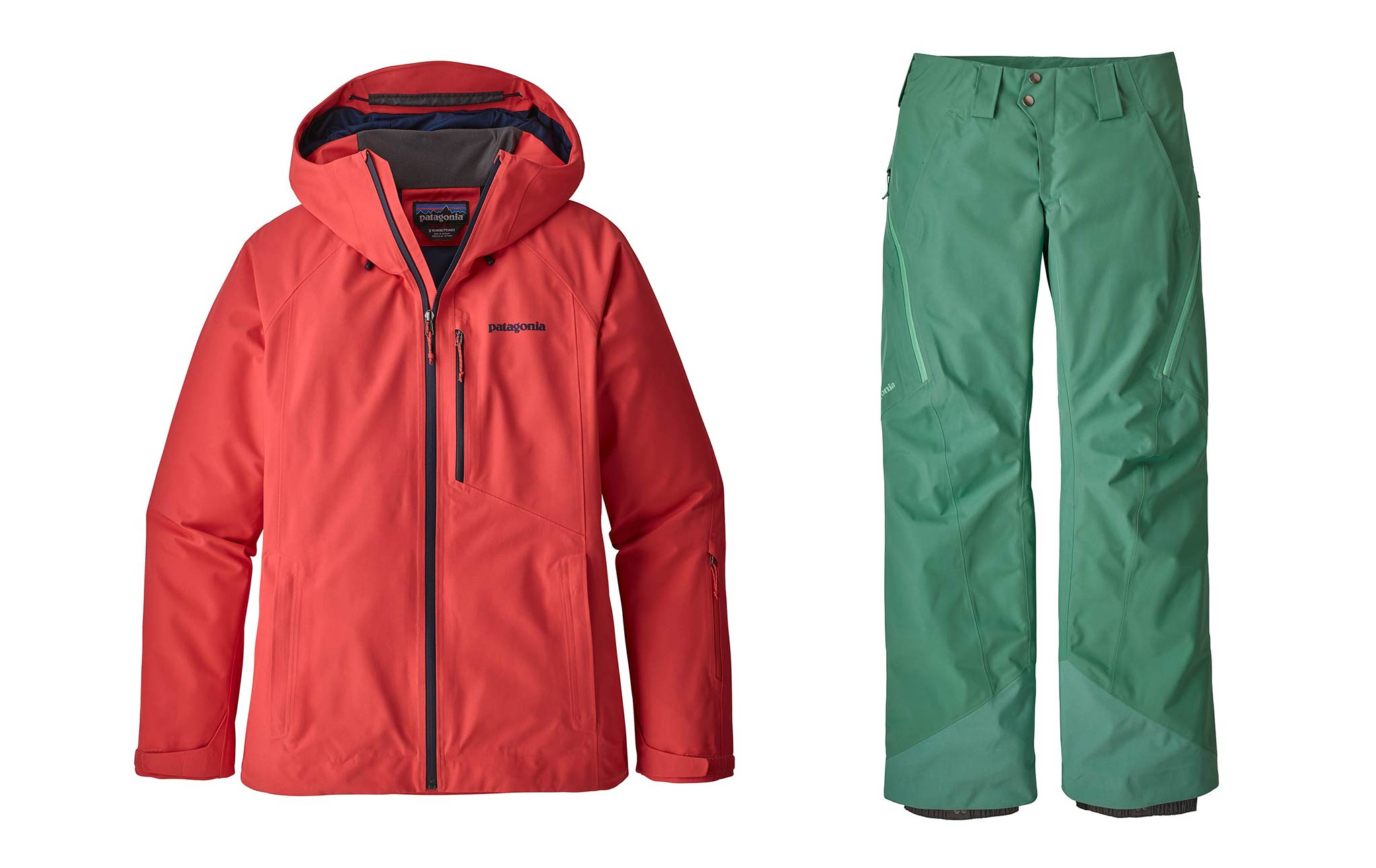 Frauen: Patagonia Powder-Bowl Jacket & Pants
