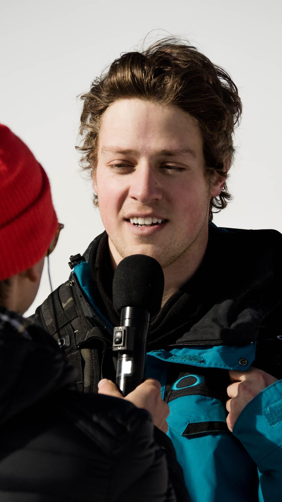 Der Olympia-Sieger von 2014 Joss Christensen war im Finale nicht mit dabei ...
