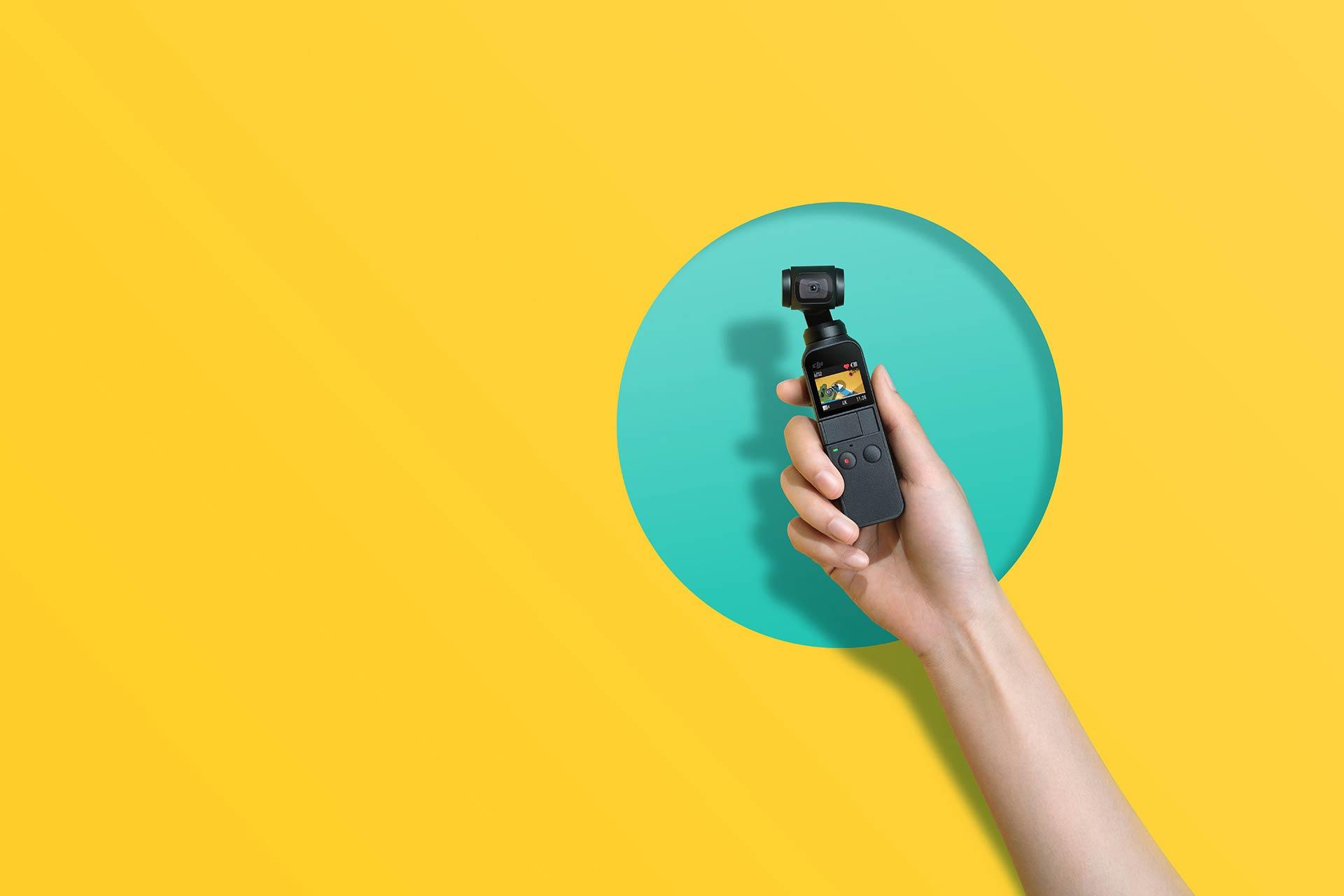 DJI Osmo Pocket: DJI veröffentlicht die weltweit kleinste 4K Kamera mit 3-Axis Gimbal