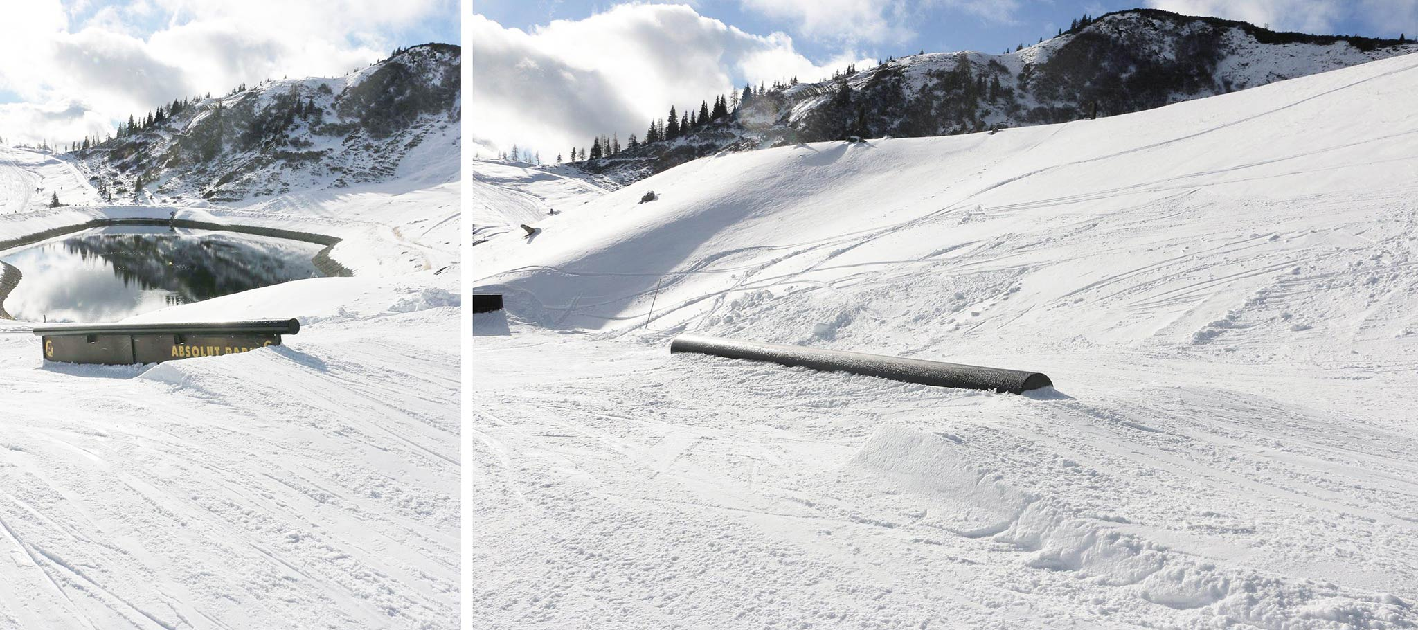 Kurzes Down Rail und Straight Tube - Foto: Absolut Park