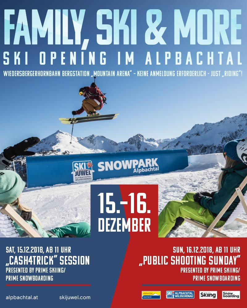 Alpbachtal Opening 2018 - PRIME Shooting Session & Cash4Tricks