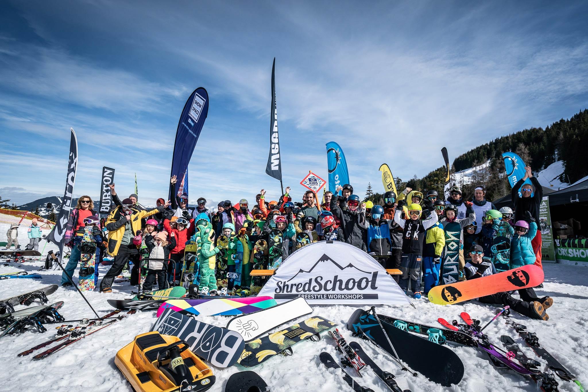 Rund 200 Freestyle begeisterte Kinder und Eltern waren beim Family Freestyle Weekend 2019 am Start - Foto: Gert Perauer