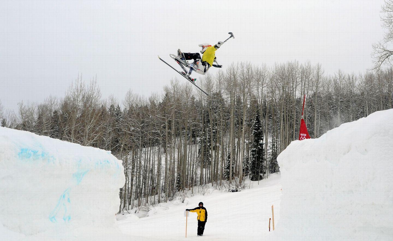 Zum ersten Mal bei den Winter X Games IX in Aspen: Mono Ski X - Foto: Joshua Duplechian / ESPN