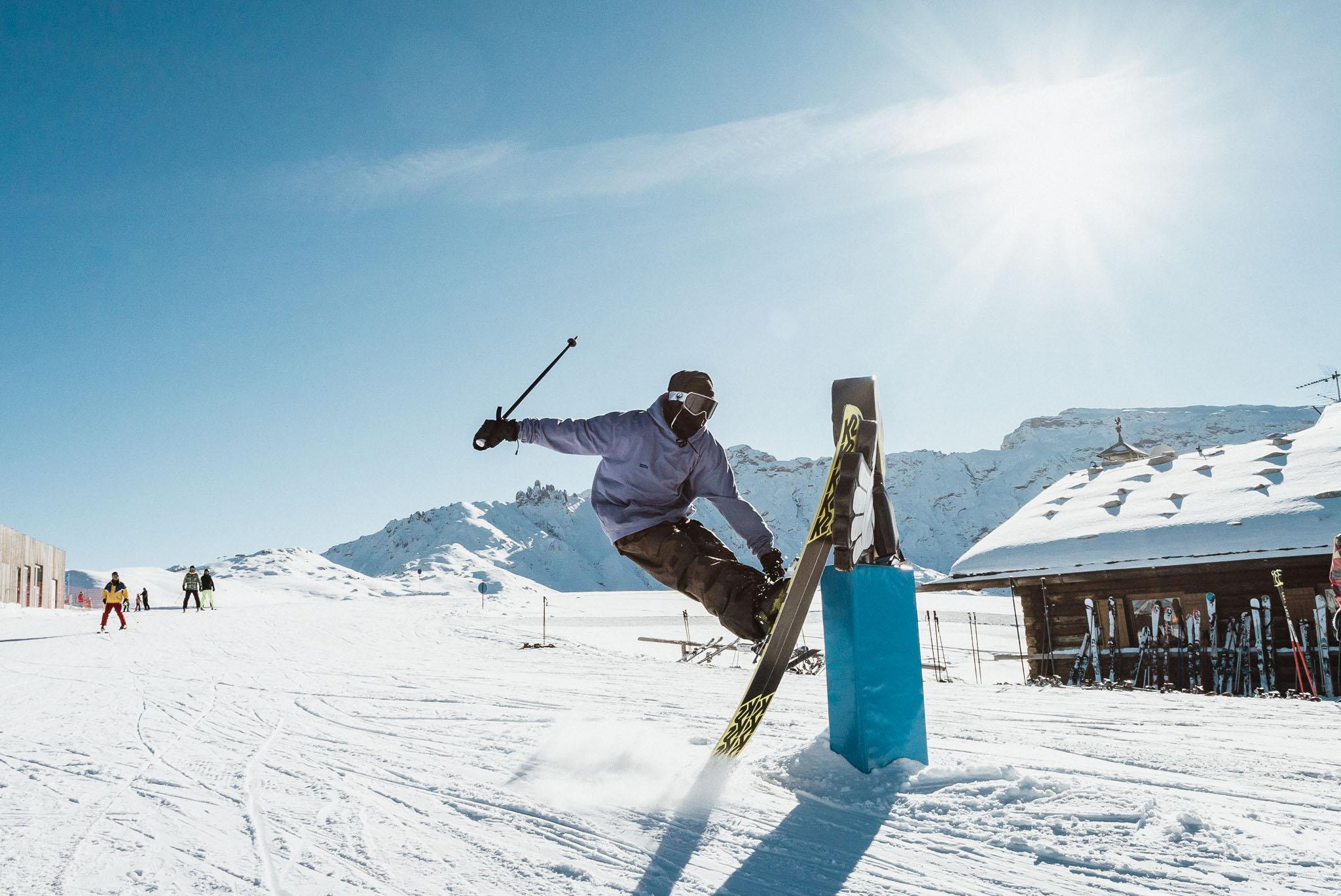 Ski High 5 - Schön wars im Snowpark Seiser Alm!
