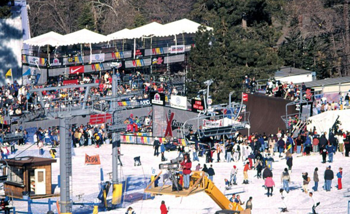 First Winter X-Games 1997 - Foto: xgames.com