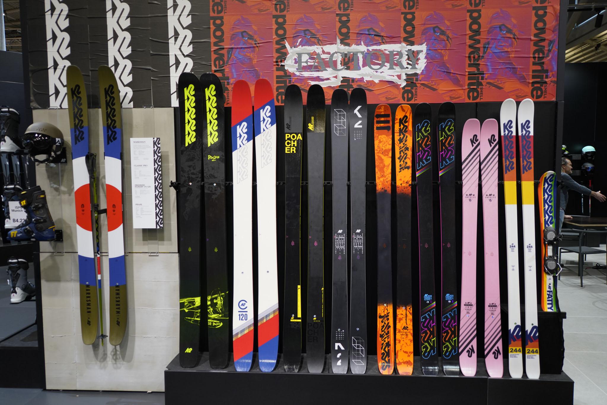 Die neue K2 Skis Faction Serie