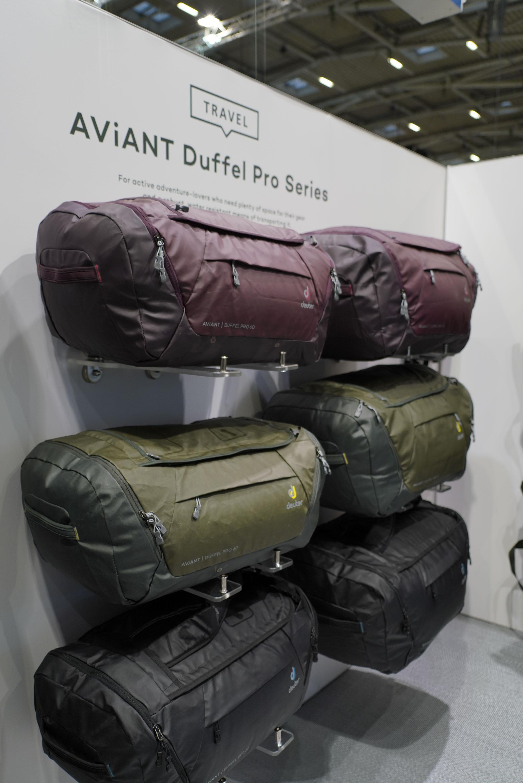 Die neue Deuter Aviant Duffle Pro Serie 19/20