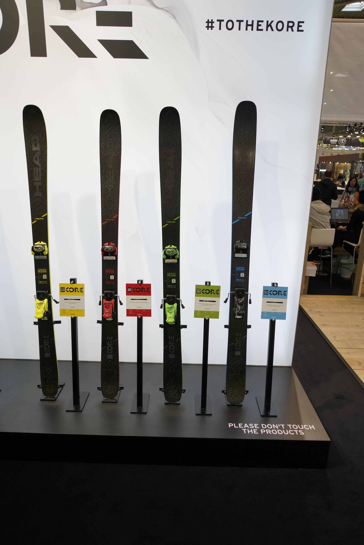 Die neue Head Skis Kore Serie (93, 99, 105 & 117)