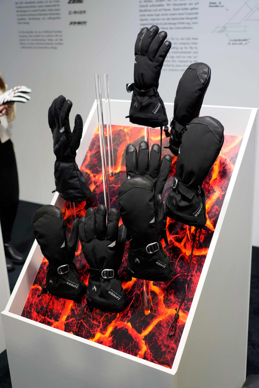 Zanier Gloves Heat Collection