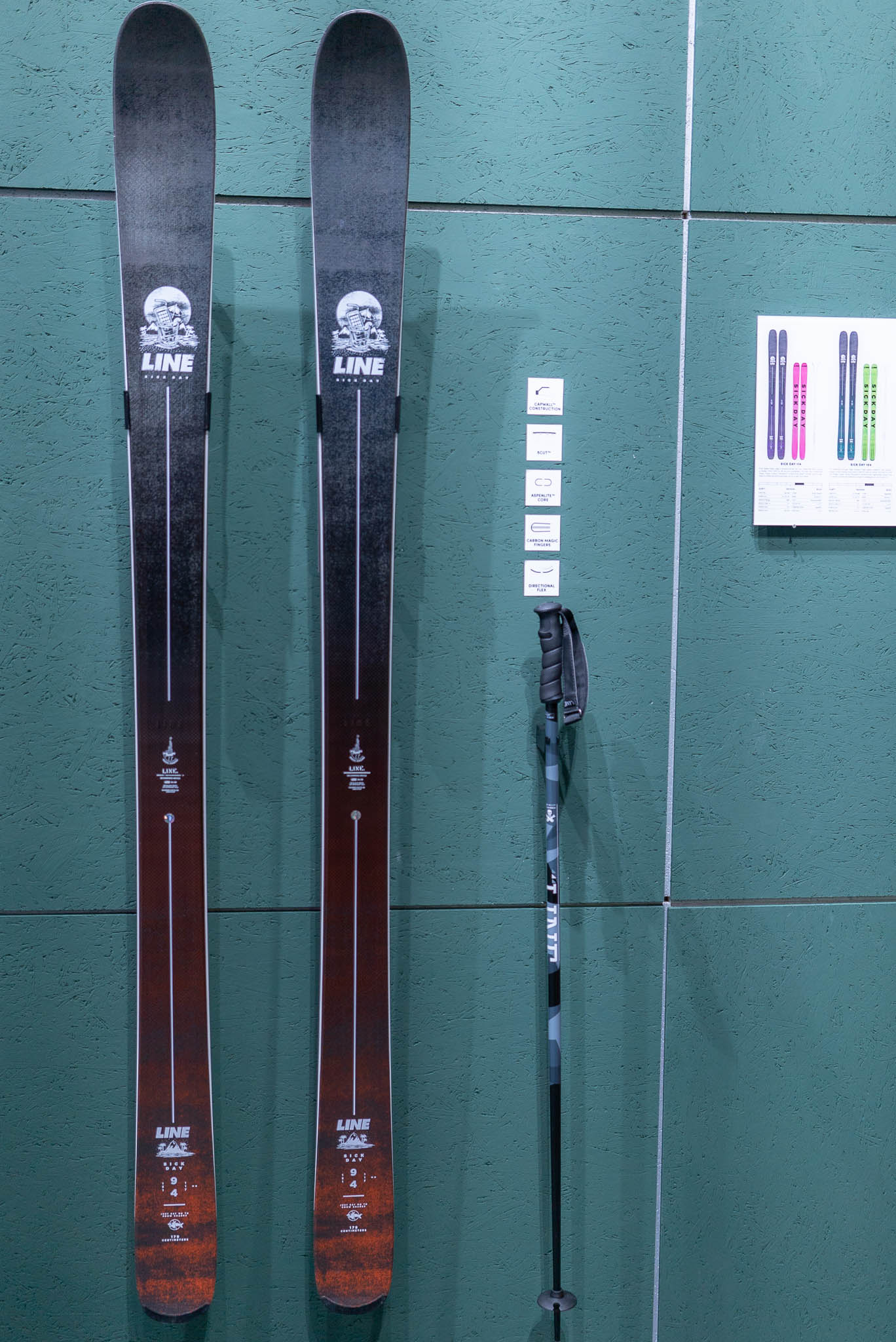 Der neue Line Skis Sick Day 94 19/20