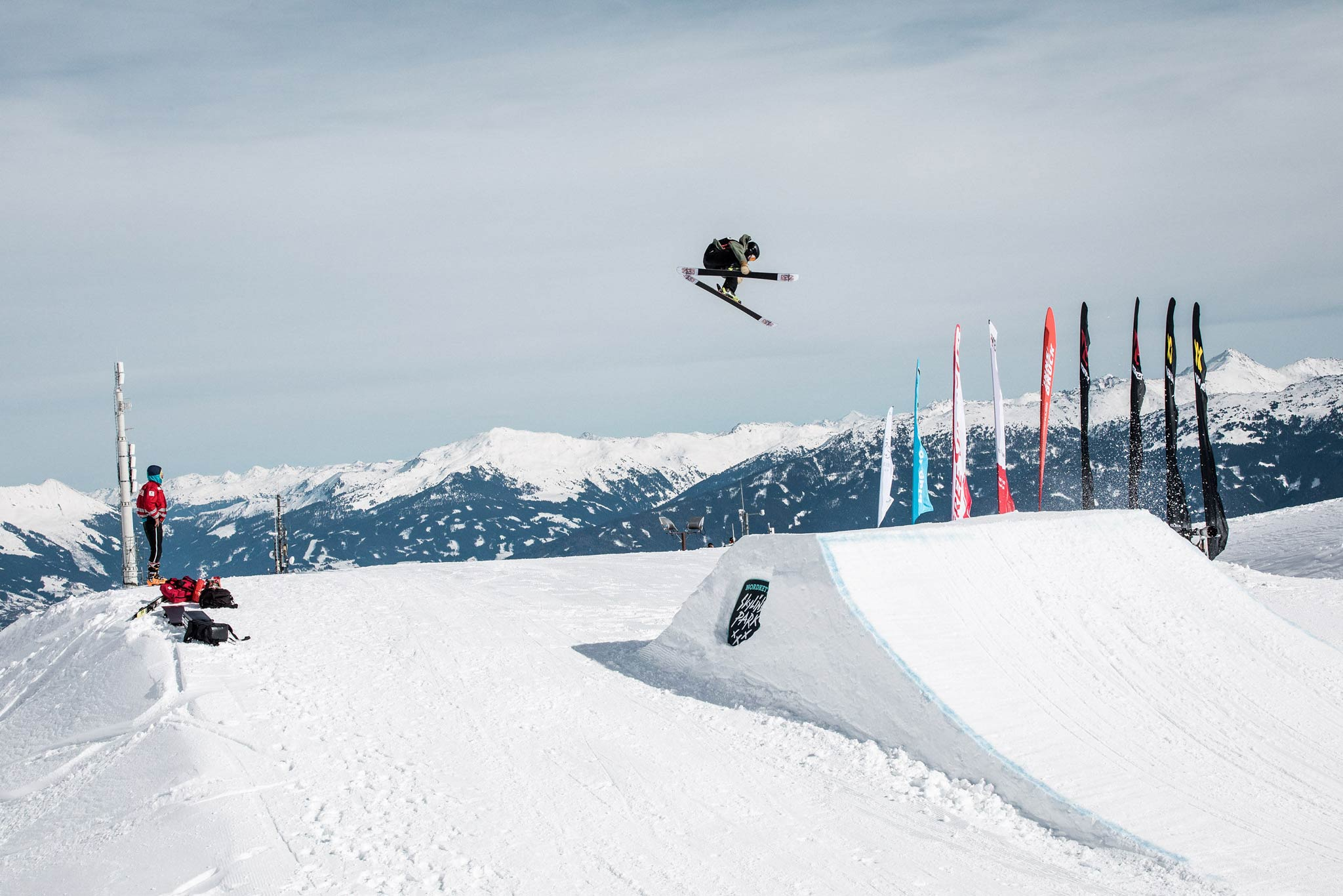 Freeski World Rookie Tour 2019: Nordkette Skyline Park / Innsbruck - Foto: Simon Rainer